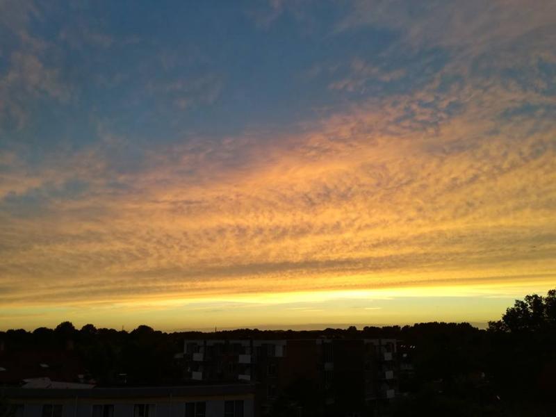 Zonsondergang (Foto: Papabear)