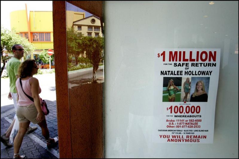 'Geen botresten Natalee Holloway gevonden'