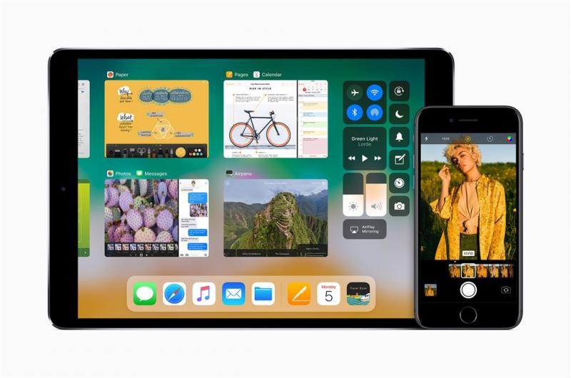 Apple laat features in iOS 11 zien