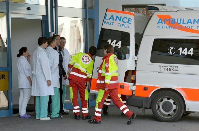 Doden door instorten feesttent Oostenrijk