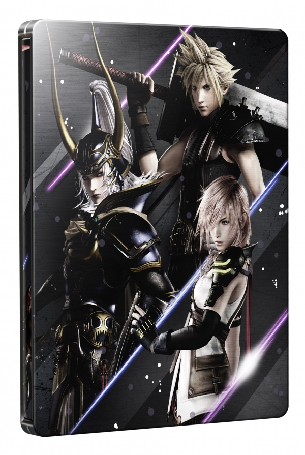 Dissidia Final Fantasy NT SteelBook Edition (Foto: Square Enix)