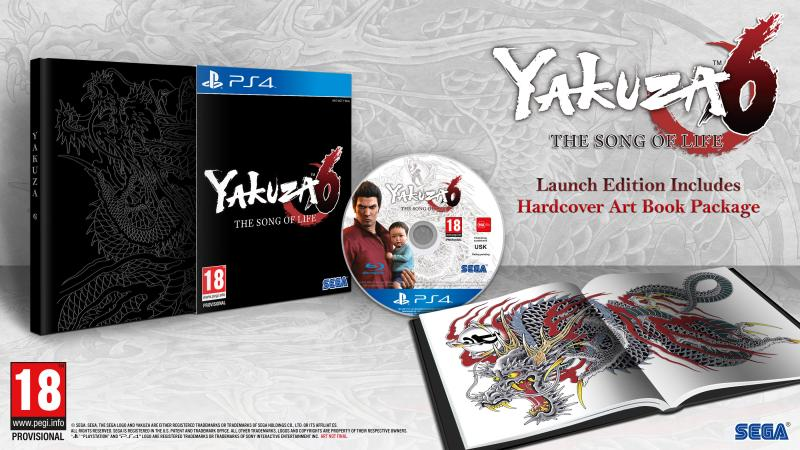Yakuza 6 Launch Edition (Foto: SEGA)