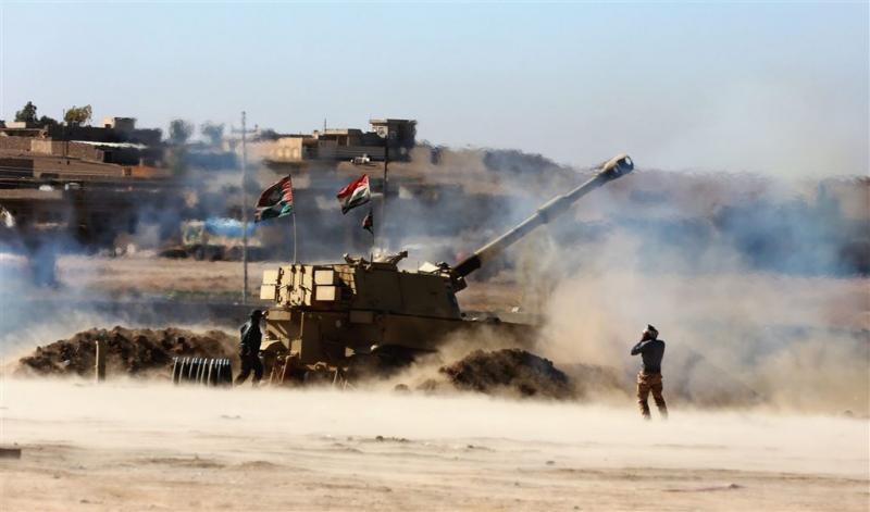Offensief Iraakse troepen tegen IS-bolwerk