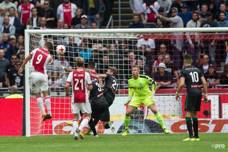 Huntelaar zette Ajax op het goede spoor tegen Groningen (Foto: Pro Shots/Marcel Bonte)