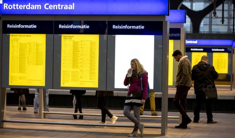 Maandag weer treinverkeer Rotterdam-Den Haag