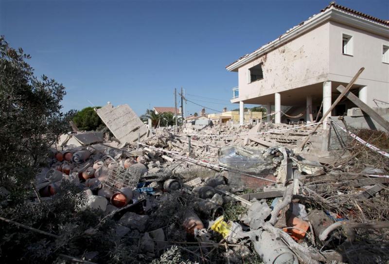 'Resten van derde persoon in ontploft huis'
