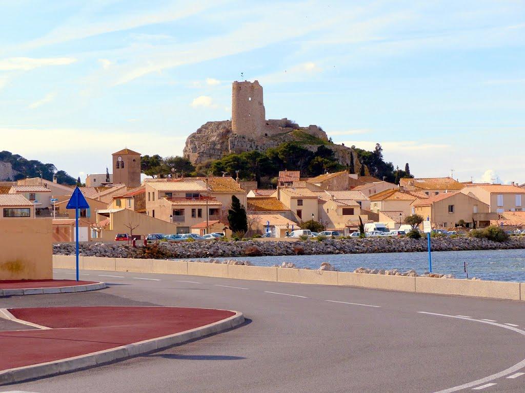 Gruissan, de finishplaats van vandaag (Foto: Panoramio)