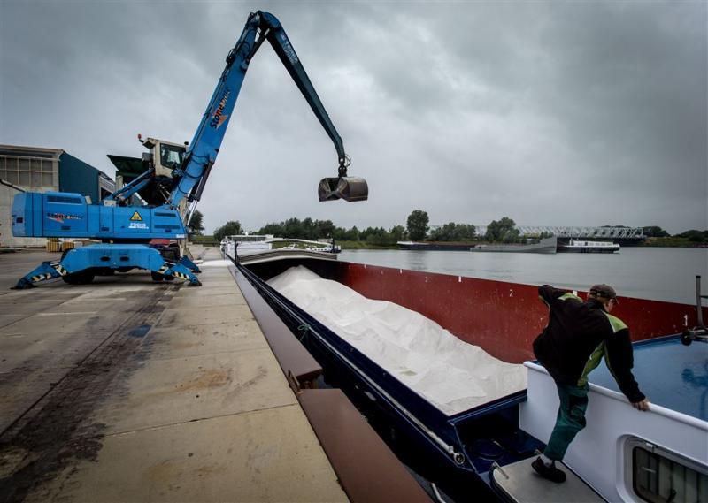 Rijkswaterstaat werkt alweer aan het strooizout