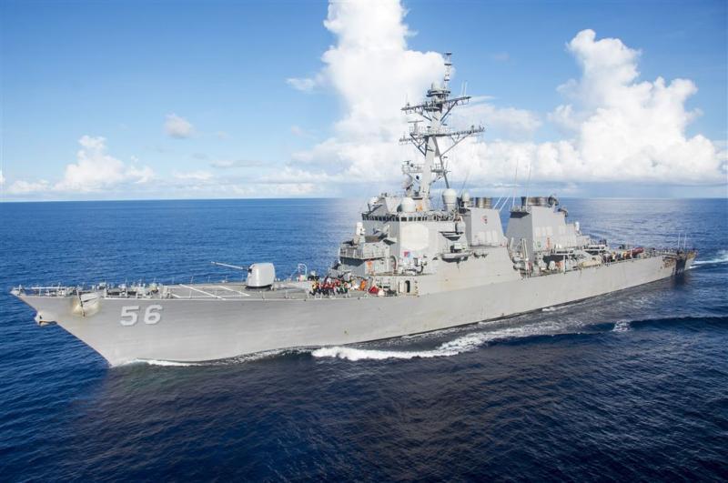 Aanvaring VS-torpedobootjager met tanker