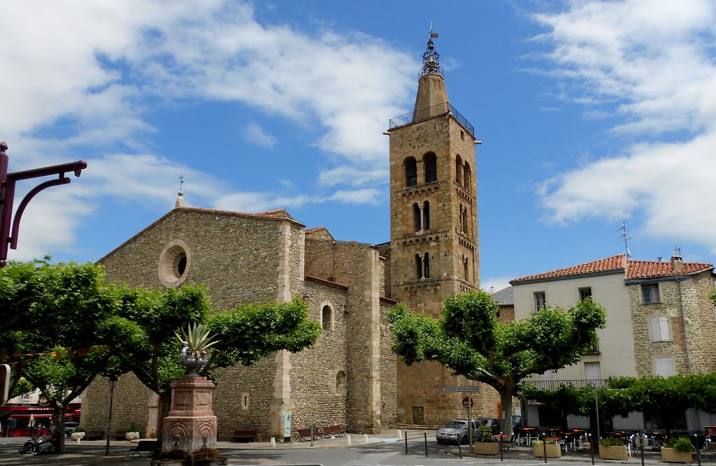 De kerk in Prades (Foto: Panoramio)