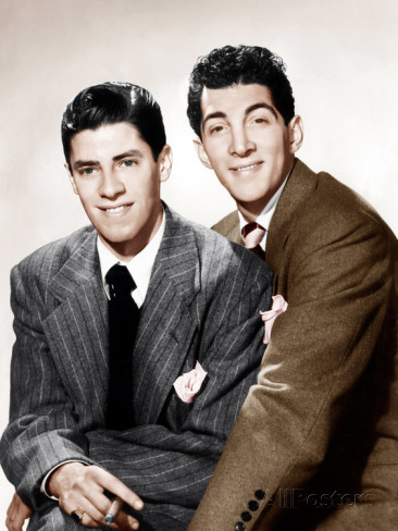 Jerry Lewis en Dean Martin in 1946