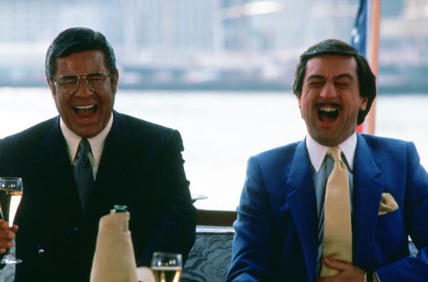De Niro en Lewis in The King Of Comedy