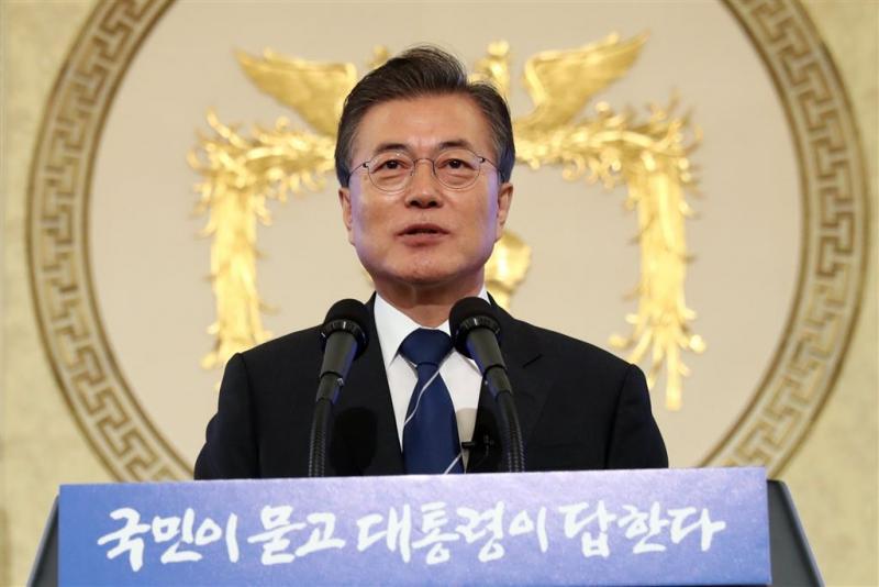 Moon waarschuwt Noord-Korea voor provocaties