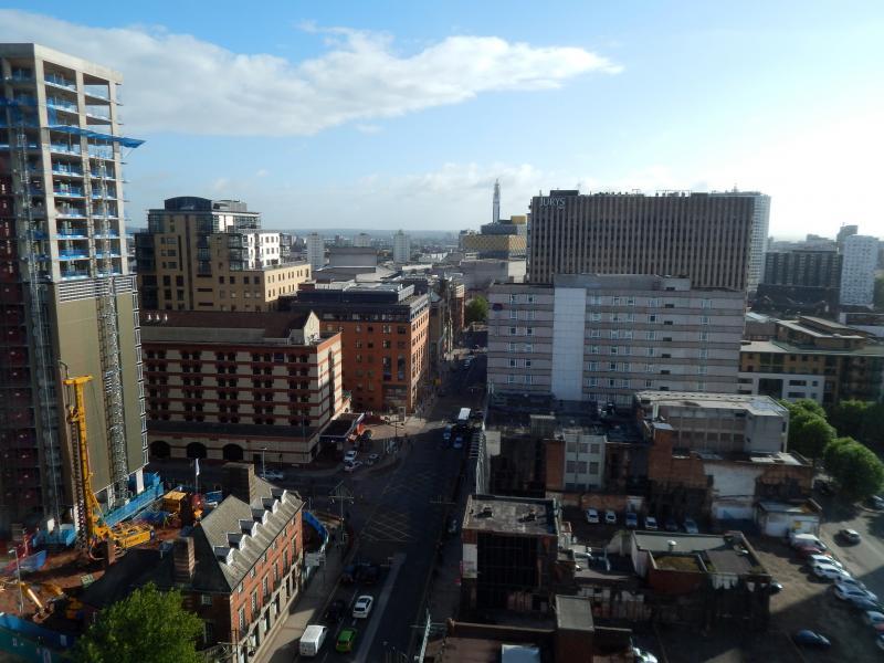 Uitzicht over Birmingham (Foto: bazbo)