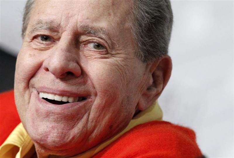 Hartfalen officiële doodsoorzaak Jerry Lewis