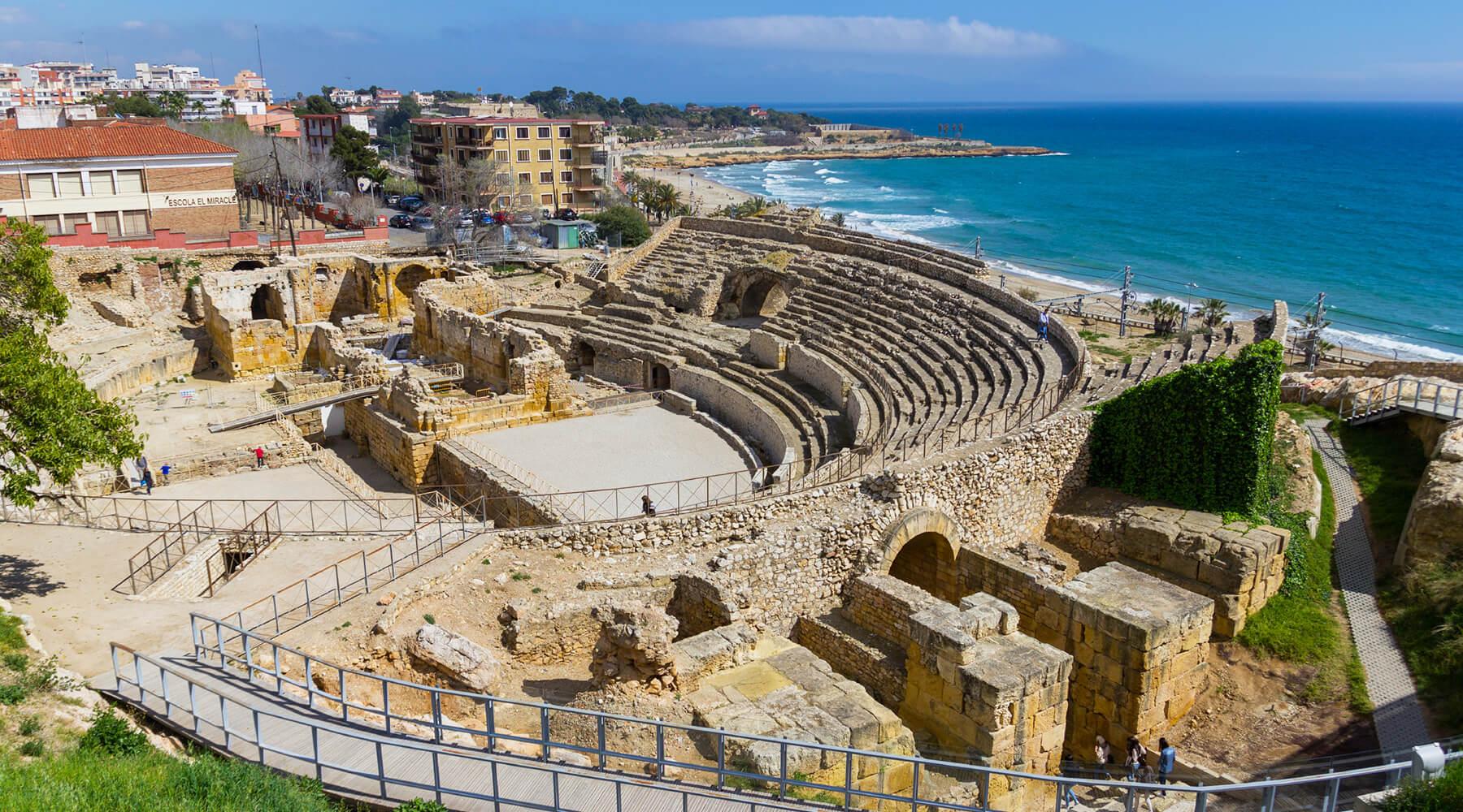 Het amfitheater van de stad (Foto: Panoramio)