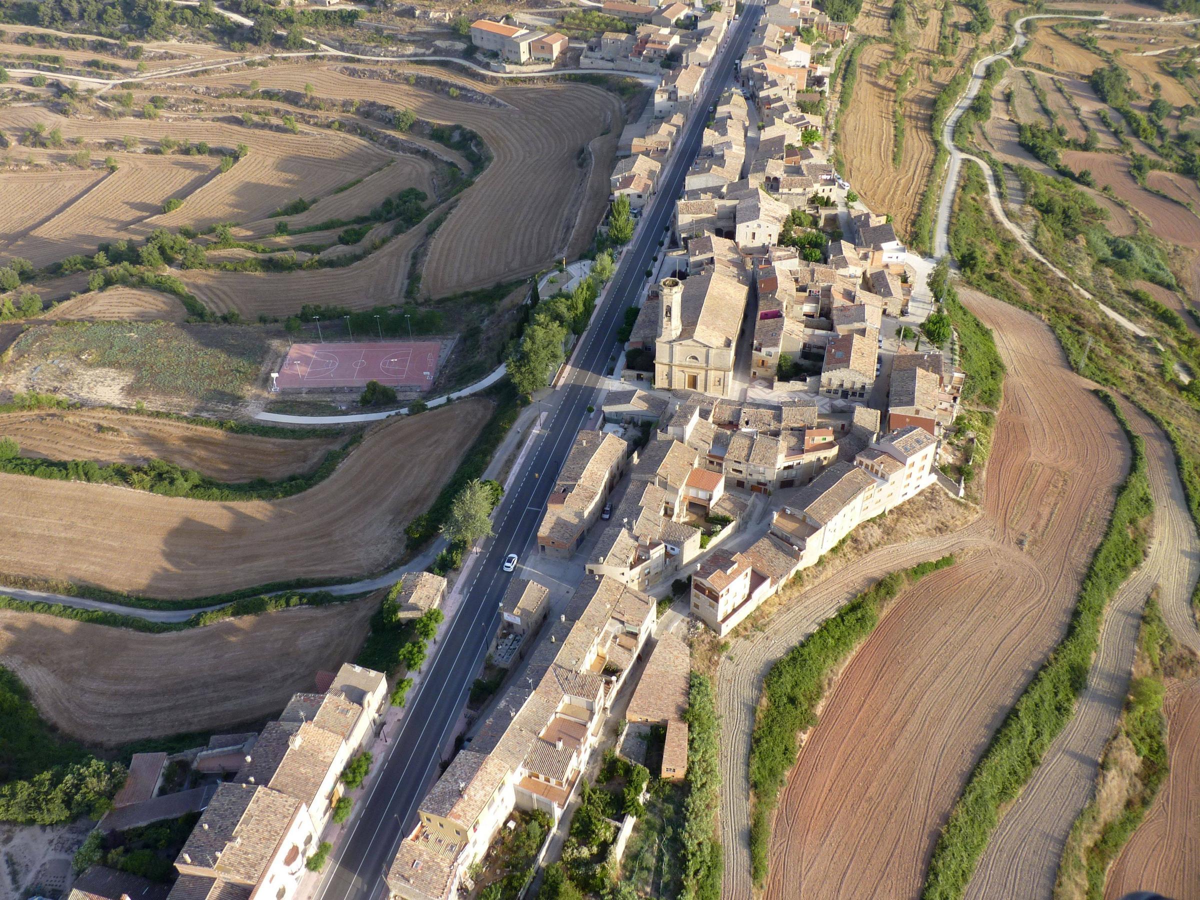 Het voor deze streek typische Belltall (Foto: Panoramio)