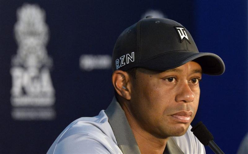 Woods dreigt hackers met juridische stappen