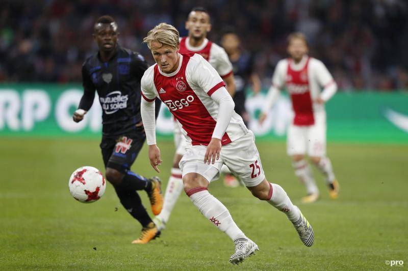 Ajax wijst megabod op Dolberg af (Foto: Pro Shots/Stanley Gontha)