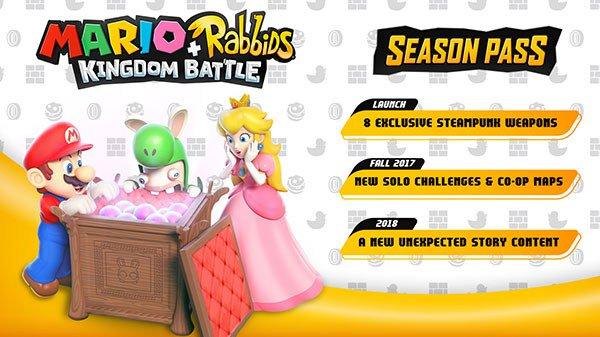 Mario + Rabbids Kingdom Battle Season Pass