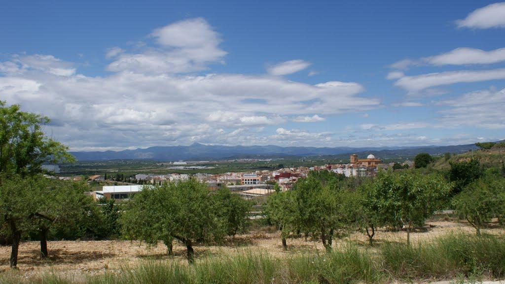 Een mooi vergezicht op de route vandaag (Foto: Panoramio)