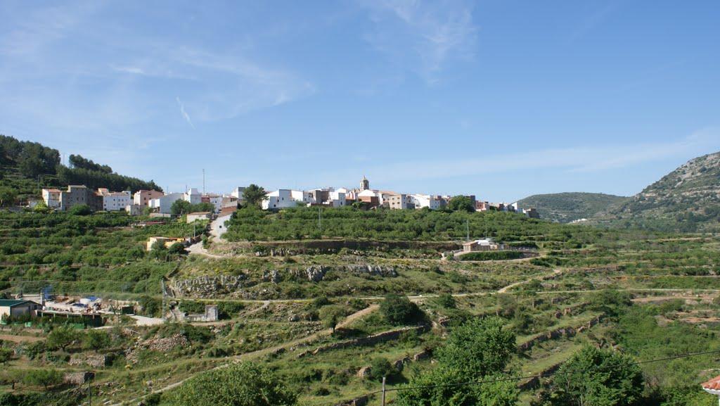 Sierra Engarceran, mooi gelegen op een heuvel (Foto: Panoramio)