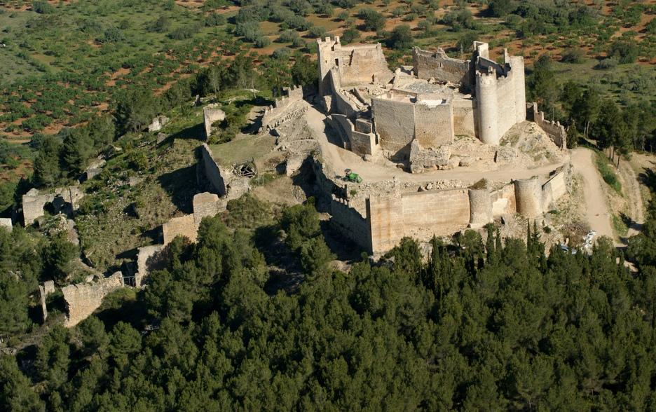 Ruïnes bij Alcala de Xivert (Foto: Panoramio)