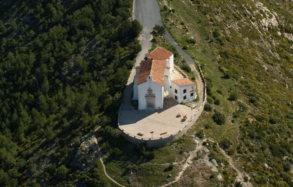 Het kerkje bij Ermita Santa Lucia (Foto: Panoramio)