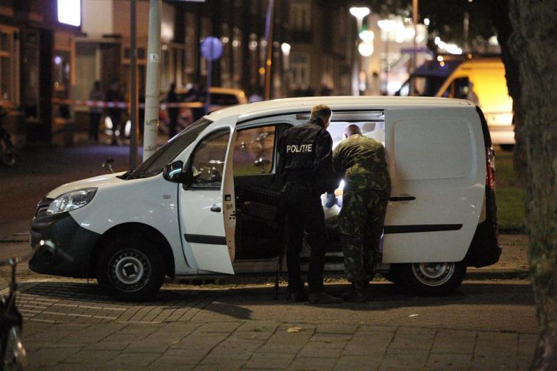 Onderzoek busje Rotterdam loopt nog