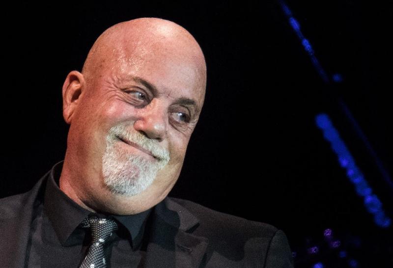 Billy Joel draagt jodenster tijdens optreden