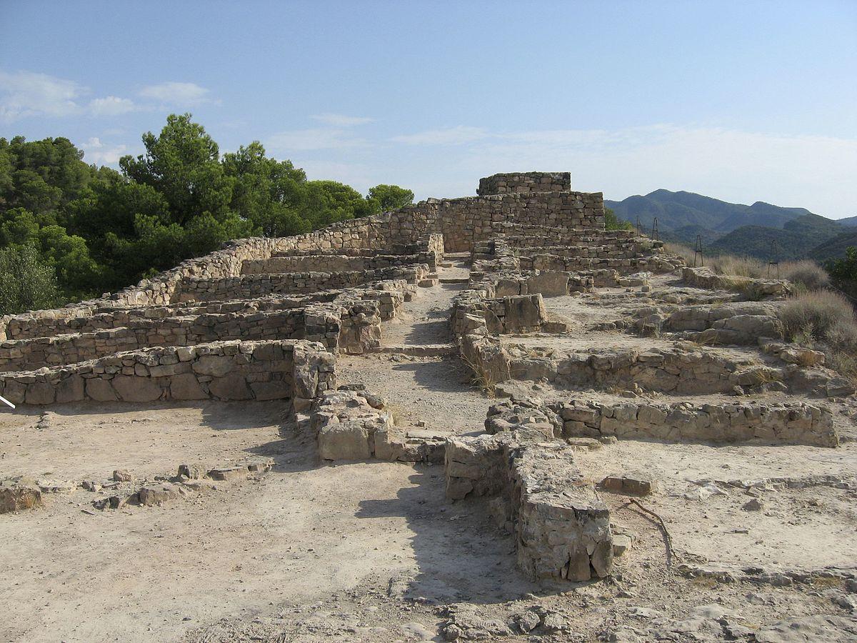 De ruïnes bij Puntal dels Llopes (Foto: WikiCommons)