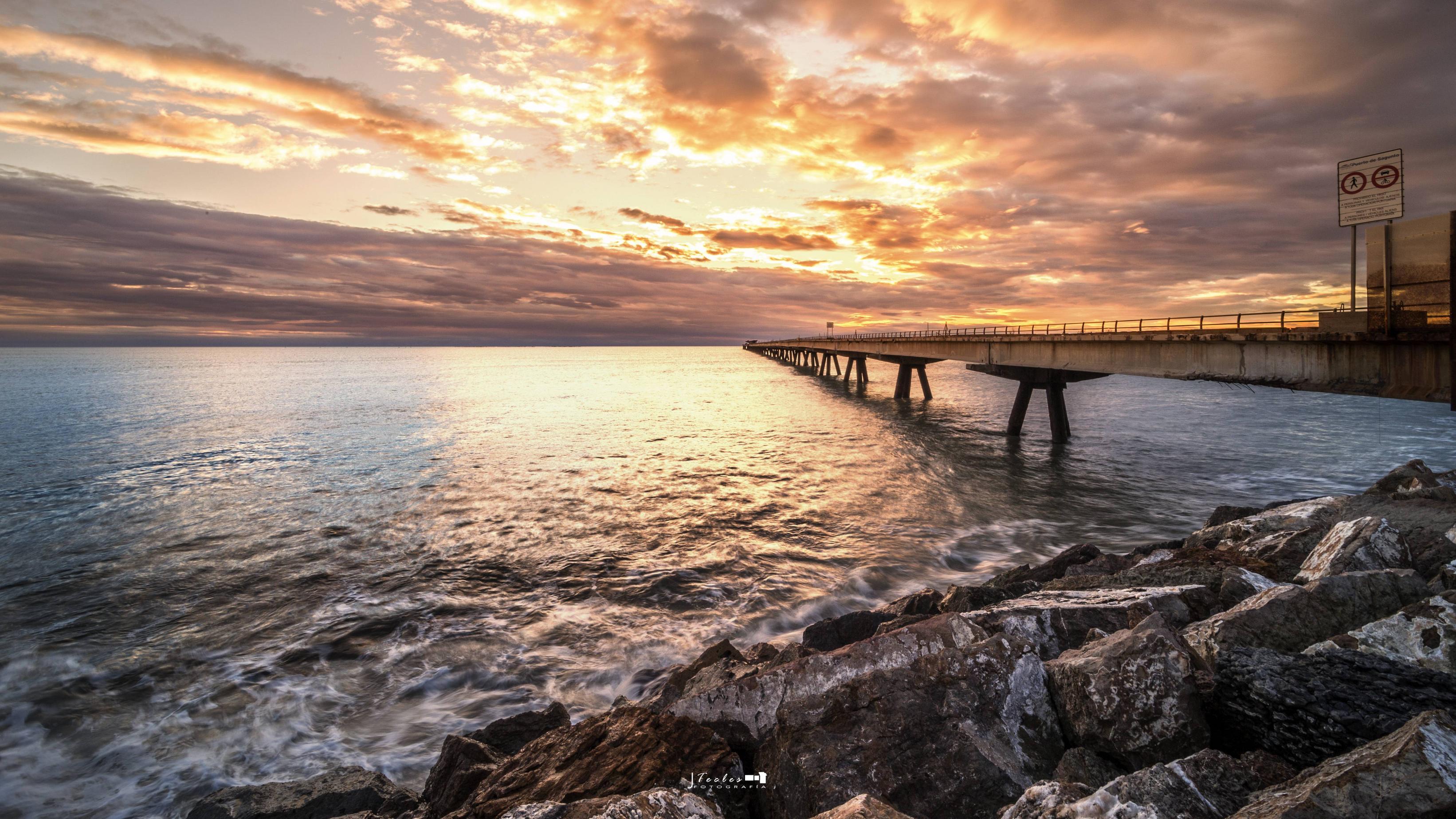 Mooie brug bij Port de Sagunt (Foto: Panoramio)