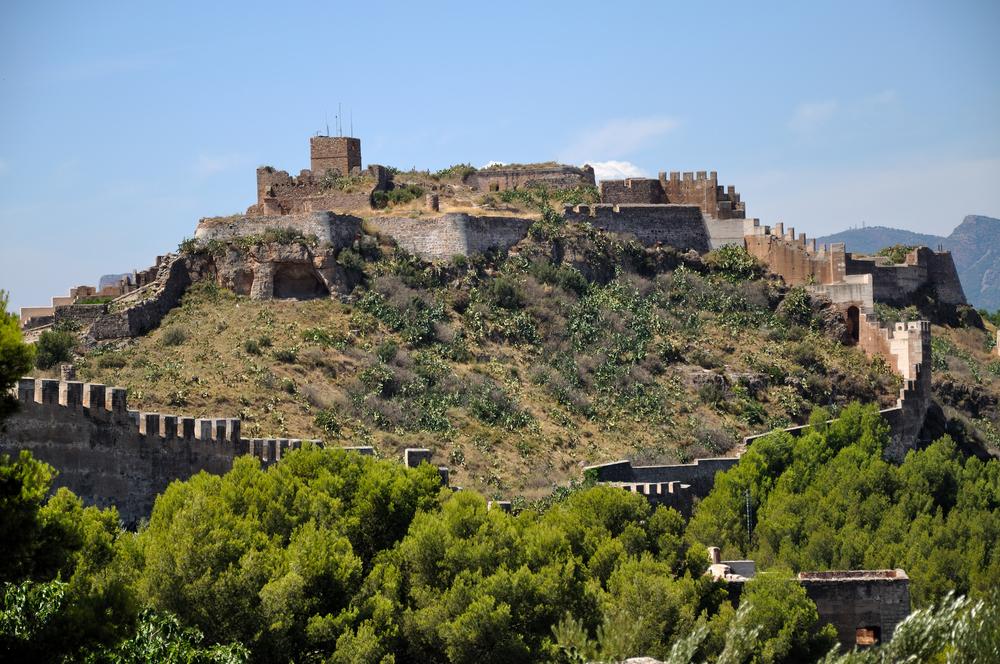 Het kasteel van Sagunt (Foto: Panoramio)