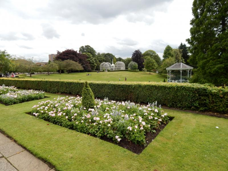 De Botanische tuin van Birmingham (Foto: bazbo)
