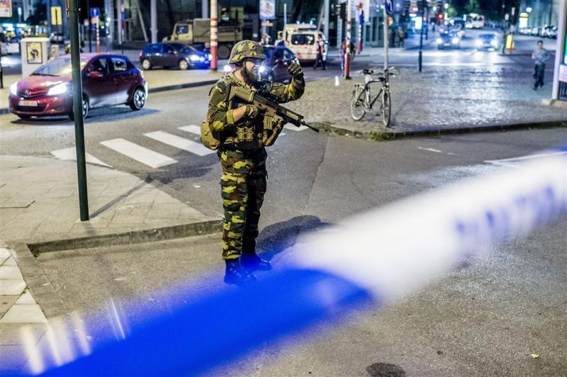 Militairen schieten verdachte dood in Brussel
