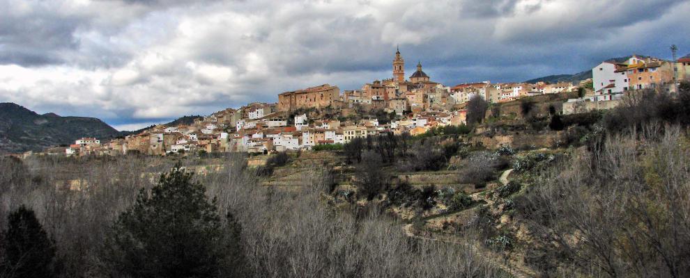Het lieflijke Chelva (Foto: Panoramio)