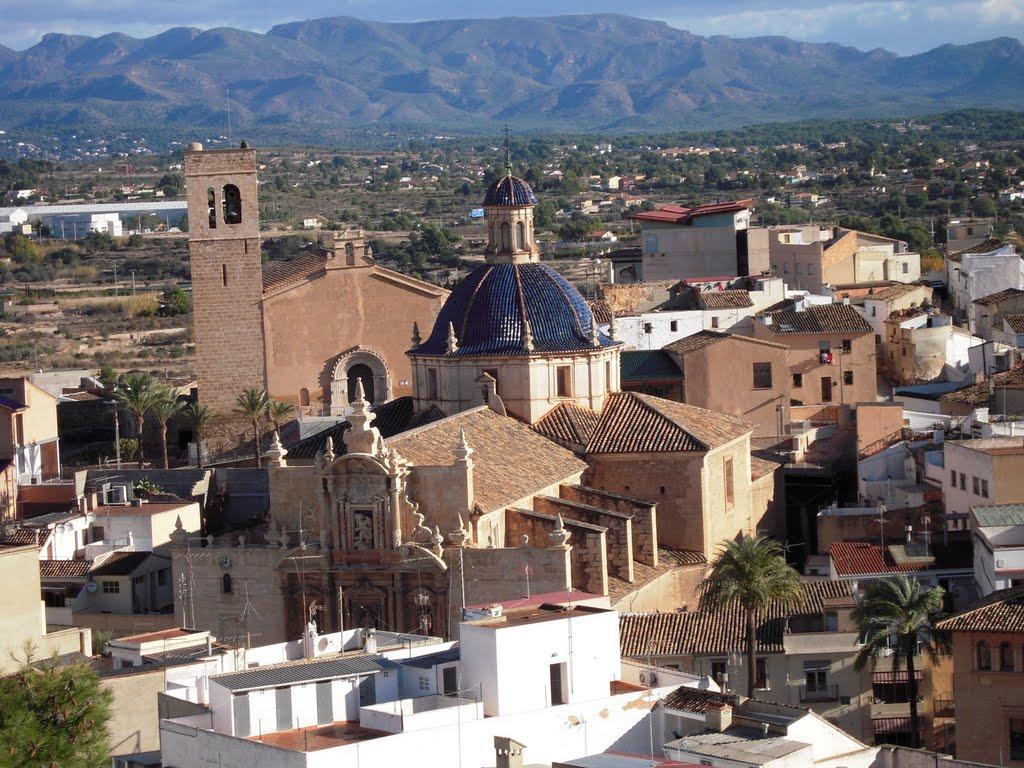 De kerk in Llíria staat er prima bij (Foto: Panoramio)