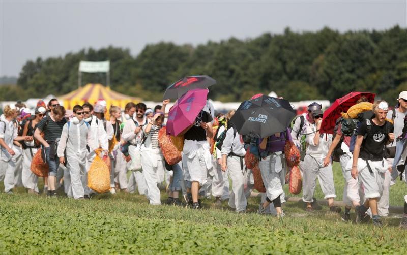 Actie in Duitsland tegen bruinkoolcentrales