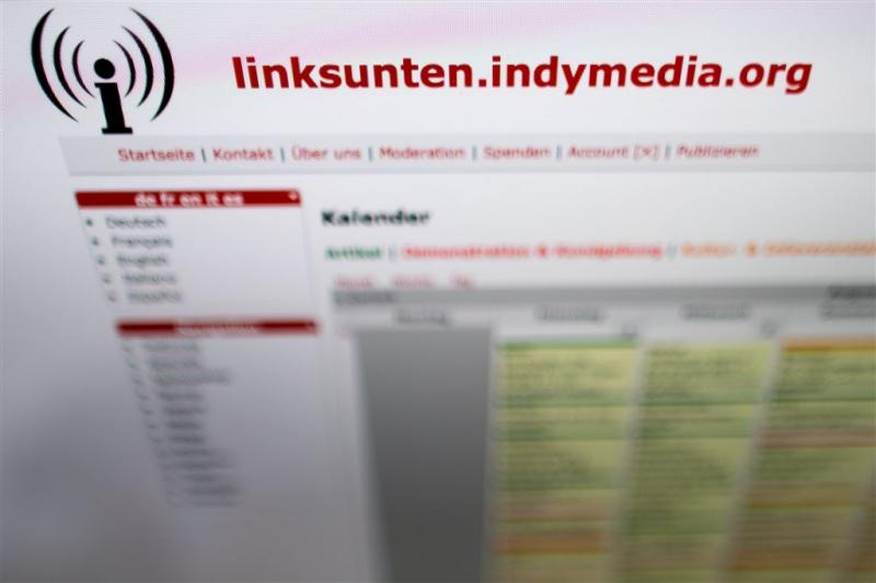 Linksradicale tak van indymedia weer online