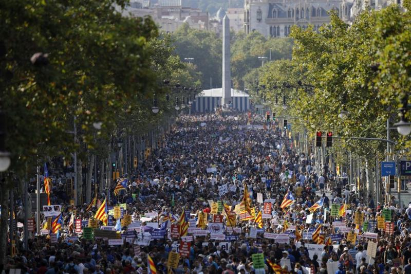 Half miljoen mensen in mars tegen terrorisme