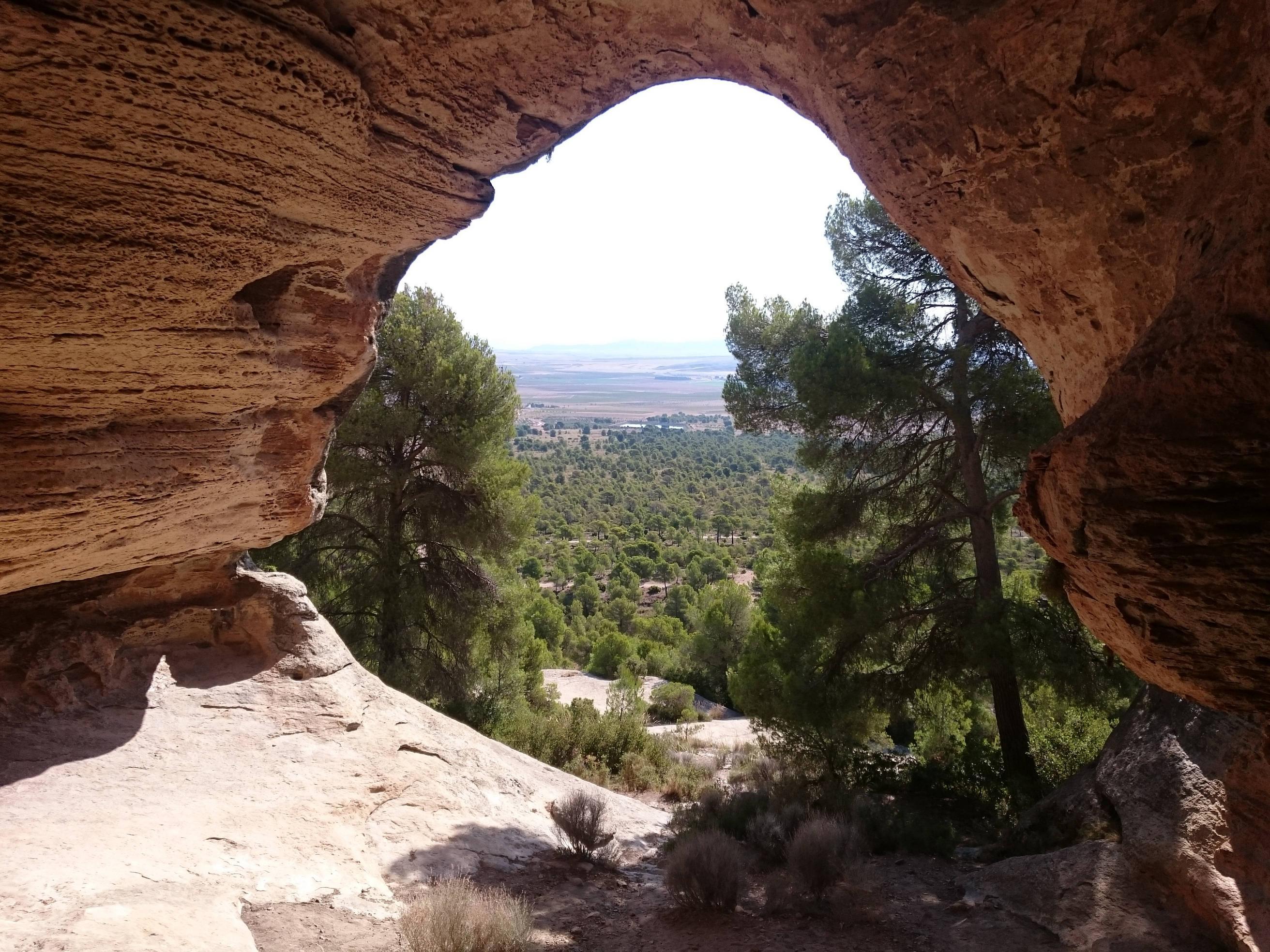 Grotten op de Monte Arabí (Foto: Panoramio)