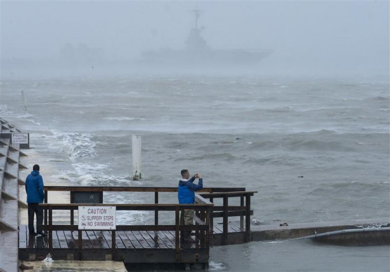 Orkaan Harvey is bijna een tropische storm