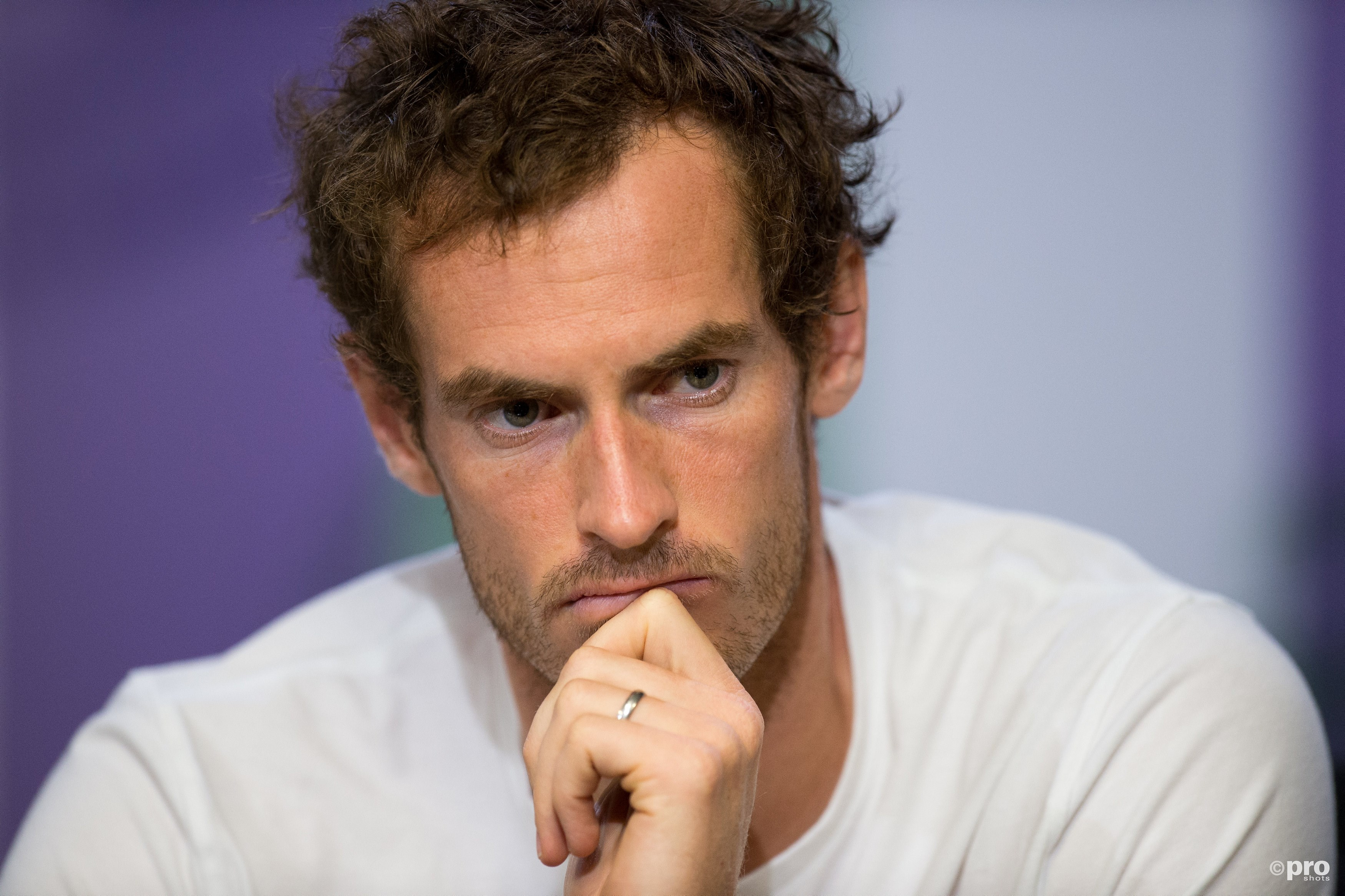 Geen US Open voor Andy Murray. (PRO SHOTS/Action Images)