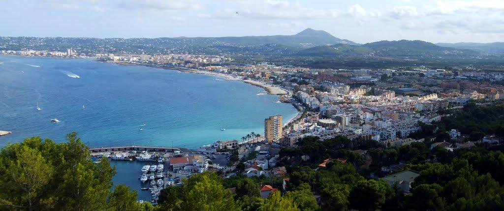 Bahia de Jávea ligt er mooi bij (Foto: Panoramio)