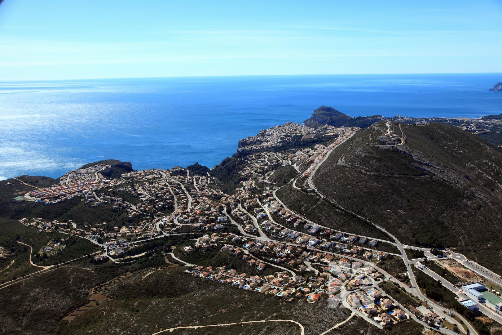 Cumbre del Sol ligt er zonnig bij (Foto: Panoramio)