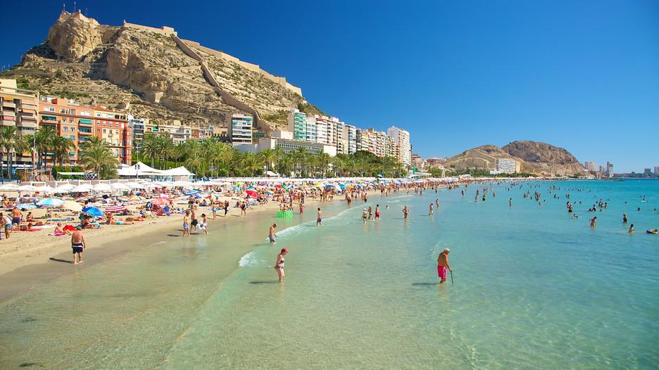 Alicante, inclusief kasteel (Foto: Panoramio)