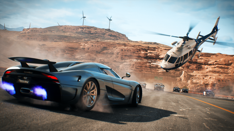 Need for Speed Payback - Helicopter  (Foto: Electronic Arts)