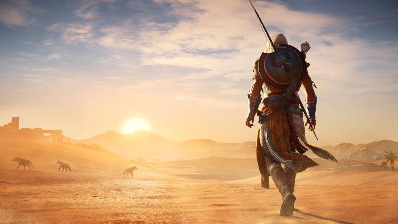 Assassin's Creed Origins - woestijn (Foto: Ubisoft)