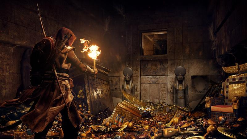 Assassin's Creed Origins - Treasure (Foto: Ubisoft)