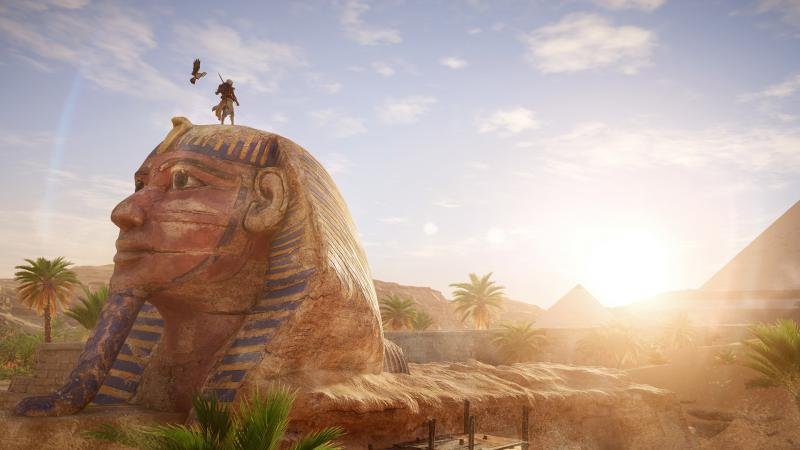 Assassin's Creed Origins - Sfynx (Foto: Ubisoft)